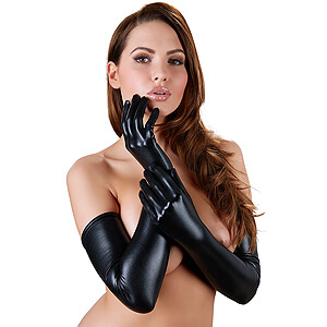 Rukavice Gloves Wetlook Cottelli Collection