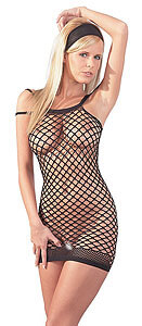 Mandy Mystery Fishnet Dress