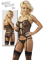 Mandy Mystery Basque Set
