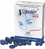 Hot V-Activ for Men - 20 Caps